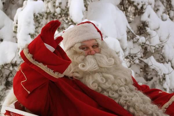 Photograph - Ho Ho Ho - It's Santa Claus by Doc Braham