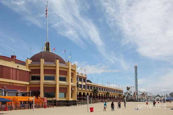 Photograph - Santa Cruz Beach Boardwalk California 5d23748 by Wingsdomain Art and Photography