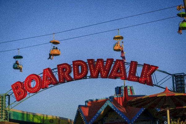 Photograph - Santa Cruz Boardwalk 1 by Scott Campbell