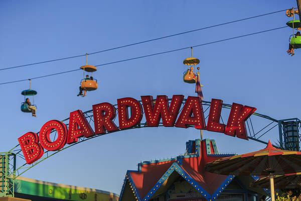 Photograph - Santa Cruz Boardwalk 5 by Scott Campbell