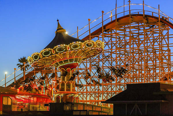 Photograph - Santa Cruz Seaswing And The Giant Dipper 4 by Scott Campbell