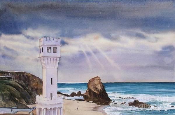Atc Painting - Santa Cruz Tempestuosa by Antonio Bartolo