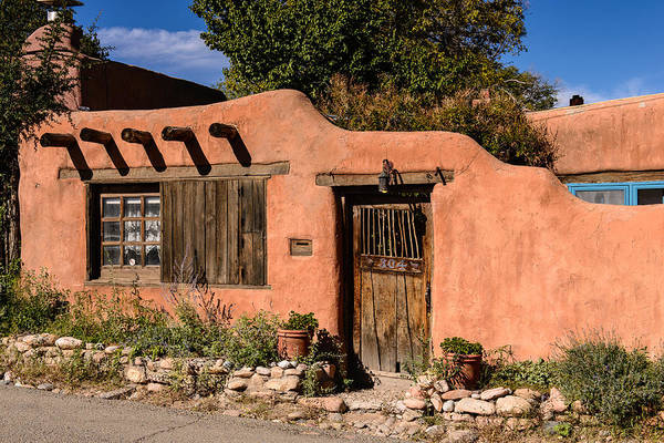 Photograph - Santa Fe Adobe by John Johnson
