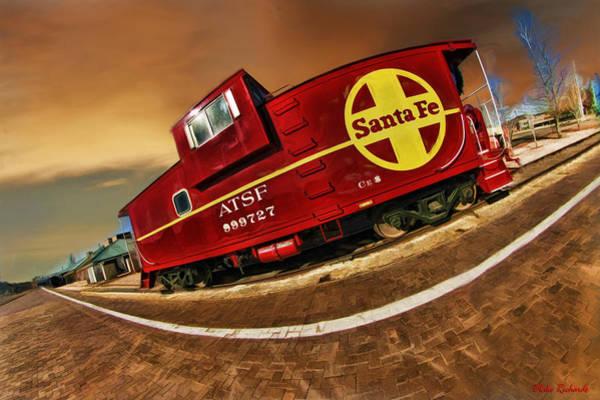 Photograph - Santa Fe Caboose 999272 Grand Canyon Railroad Station by Blake Richards