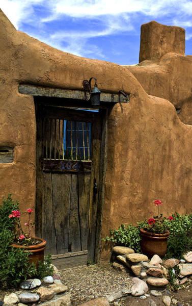 Photograph - Santa Fe Canyon  Road by Elena Nosyreva