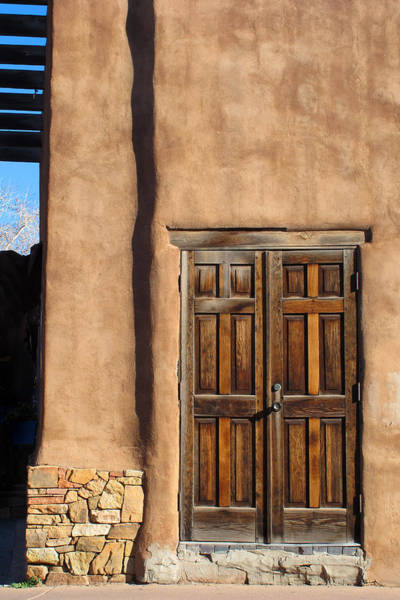 Photograph - Santa Fe Doorway by Keith May