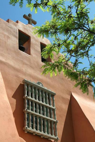 Wall Art - Photograph - Santa Fe Mission 2 by Douglas Miller