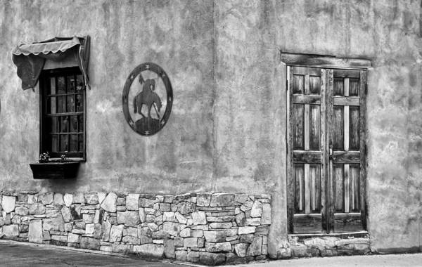Photograph - Santa Fe New Mexico Street Corner by Ron White
