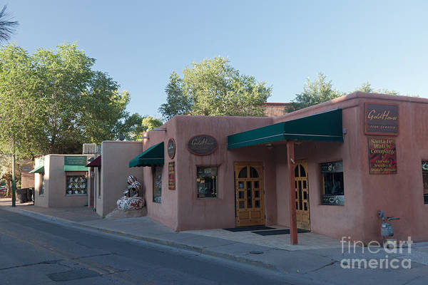 Photograph - Santa Fe Trail Shops by Fred Stearns