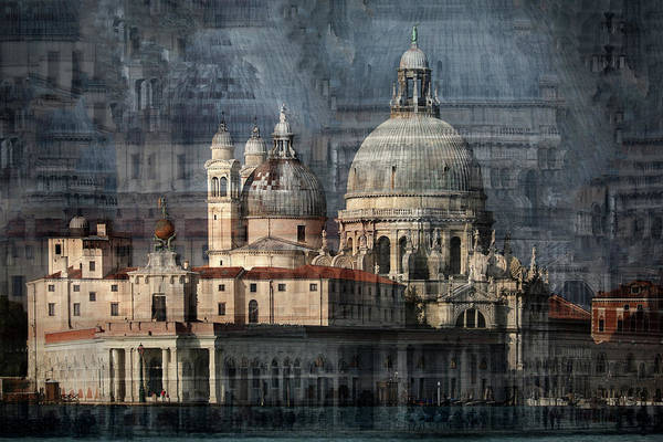 Old Church Photograph - Santa Maria Della Salute by Hans-wolfgang Hawerkamp