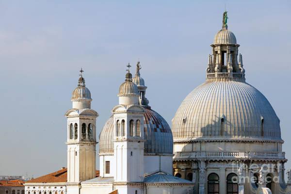 Photograph - Santa Maria Della Salute In Venice by Paul Cowan