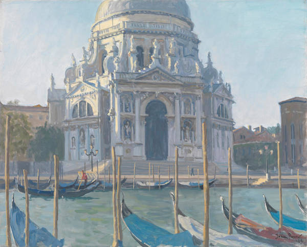 Dome Painting - Santa Maria Della Salute by Julian Barrow