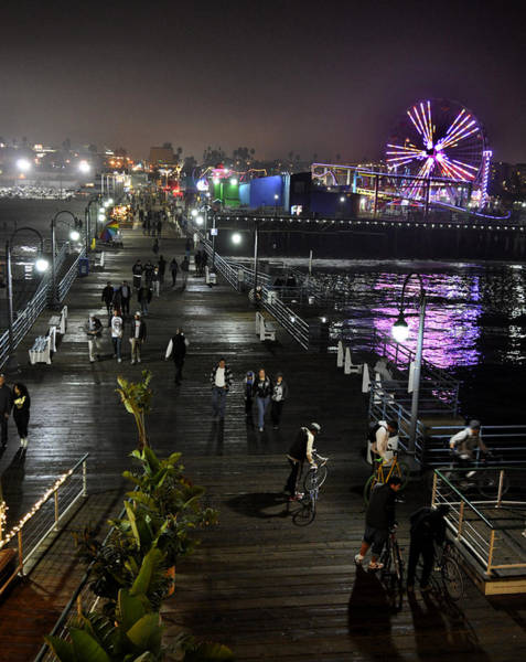 Photograph - Santa Monica by Gandz Photography