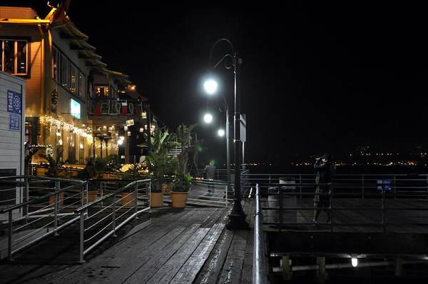 Digital Art - Santa Monica Pier by Gandz Photography