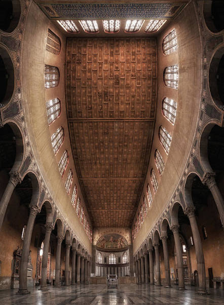 Church Photograph - Santa Sabina Church, Rome. by Massimo Cuomo