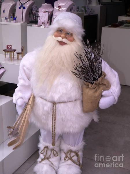 Photograph - Santa Spotted In Jewellery Store by Brenda Kean