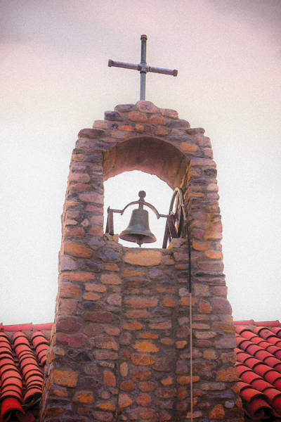 Photograph - Santa Ysabel Mission Bell Tower by Scott Campbell