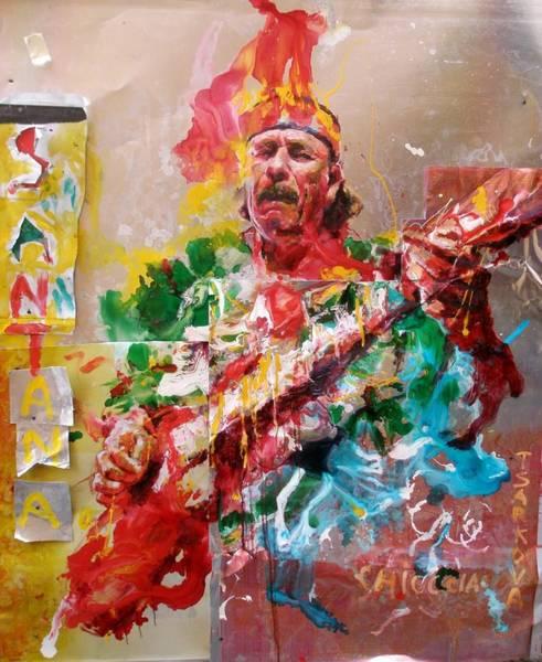 Wall Art - Painting - Santana by Massimo Chioccia