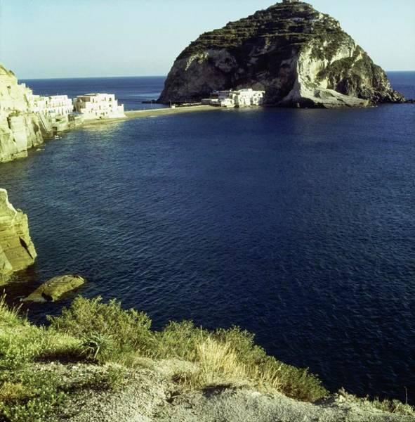 Coastal Photograph - Sant'angelo Village On Ischia by Horst P. Horst
