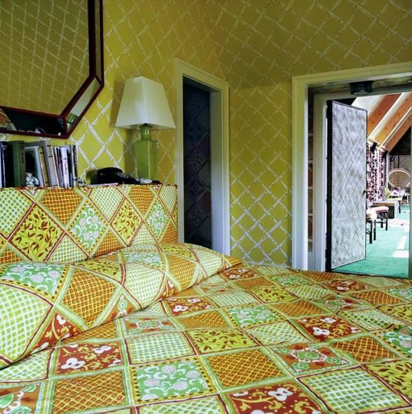 Wall Art - Photograph - Santangelo's Bedroom by Horst P. Horst