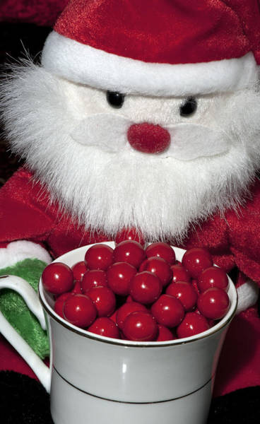 Photograph - Santa's Cup Of Goodness by Melany Sarafis