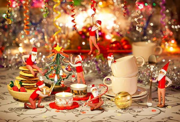 Photograph - Santas Little Helpers by Doc Braham