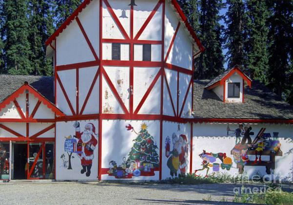 Photograph - Santa's House by Mae Wertz