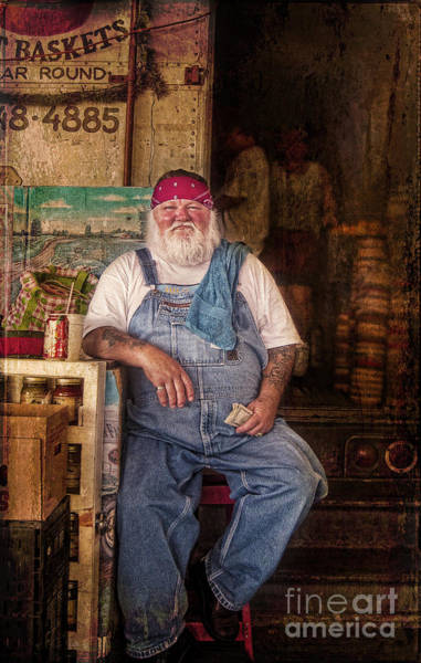 Photograph - Santa's Summer Job by Elena Nosyreva