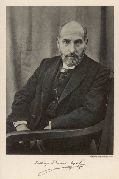 Cajal Wall Art - Photograph - Santiago Ramon Y Cajal  Spanish by Mary Evans Picture Library