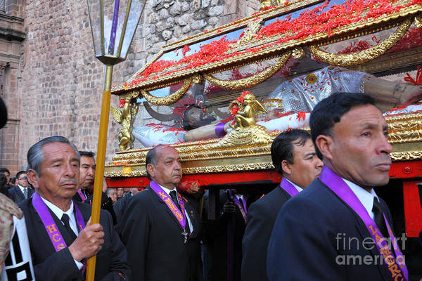 Photograph - Santo Sepulcro Procession by James Brunker
