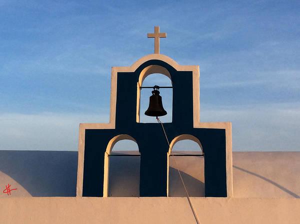 Photograph - Santorini Bells Greece by Colette V Hera  Guggenheim