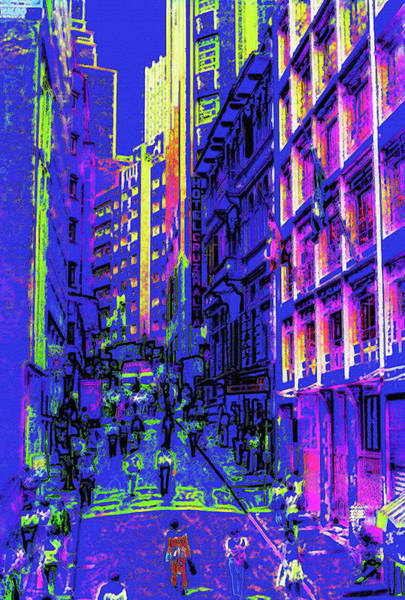 Wall Art - Photograph - Sao Paulo Downtown At Night by Steve Ohlsen