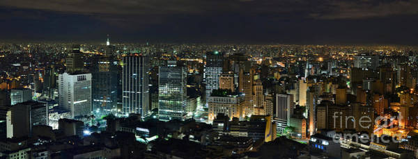 Photograph - Sao Paulo Downtown From Terraco Italia by Carlos Alkmin