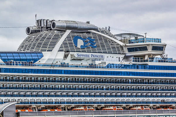 Digital Art - Sapphire Princess by Photographic Art by Russel Ray Photos