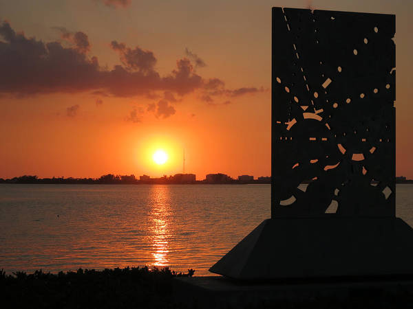 Photograph - Sarasota Bay Sunset by Richard Goldman