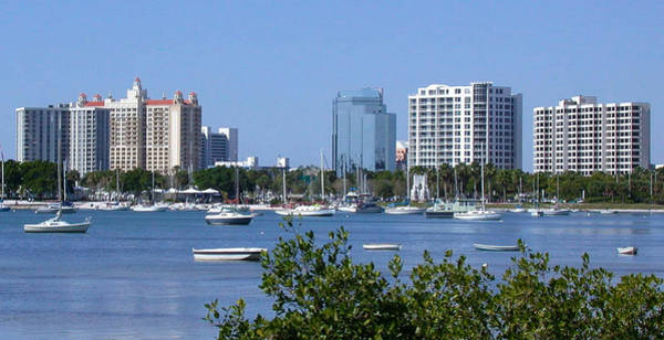 Photograph - Sarasota Florida Harbor by Richard Goldman