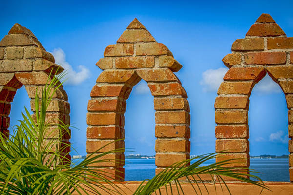 Photograph - Sarasota Through Arches by Carolyn Marshall