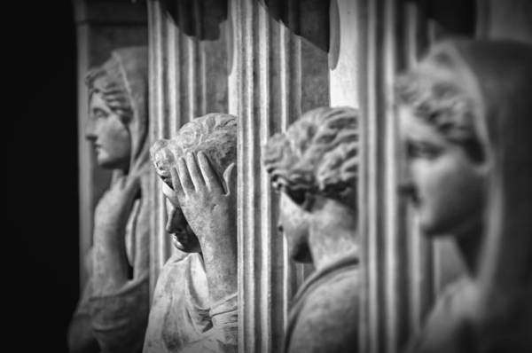 Wall Art - Photograph - Sarcophagus Of The Crying Women II by Zapista Zapista
