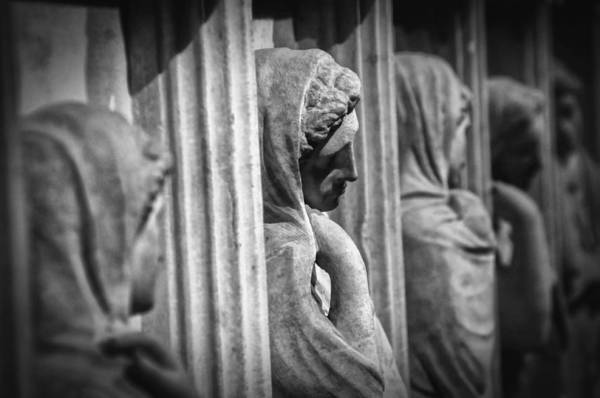 Wall Art - Photograph - Sarcophagus Of The Crying Women by Zapista Zapista