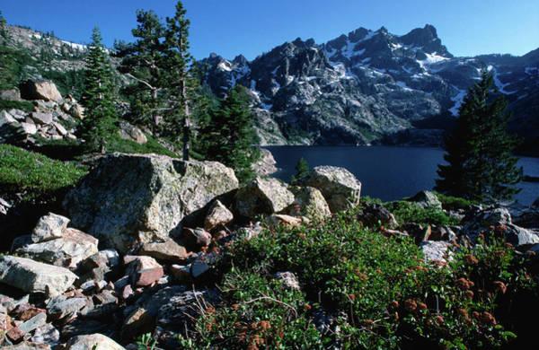 Toughness Photograph - Sardine Lake And Mountains by John Elk