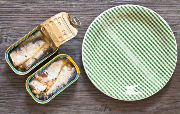 Conserved Photograph - Sardines by Tom Gowanlock
