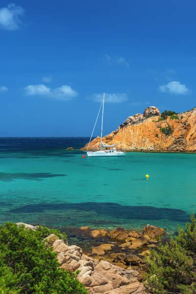 Sardinia Photograph - Sardinia, Maddalena Island, Spalmatore by Alan Copson