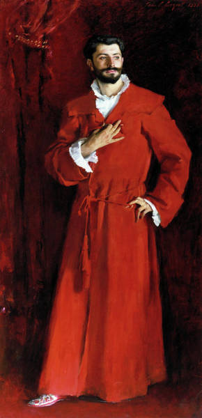 Wall Art - Painting - Sargent Dr Pozzi, 1881 by Granger