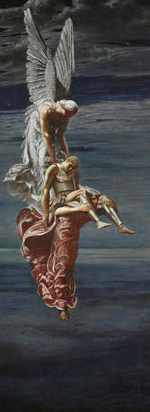 Wall Art - Painting - Sarpedon by Sir William Blake
