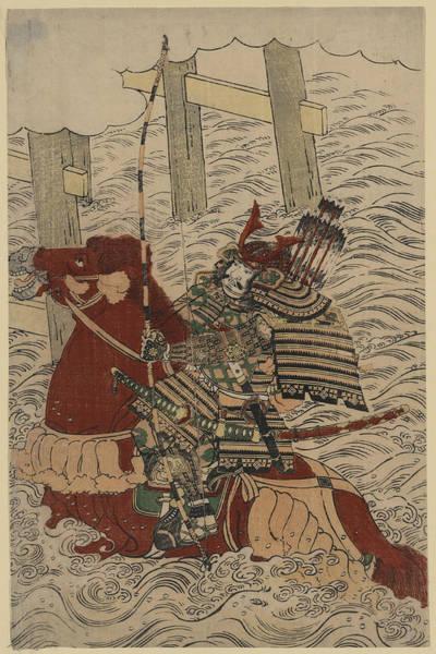 Wall Art - Painting - Sasaki Takatsuna (1160-1214) by Granger