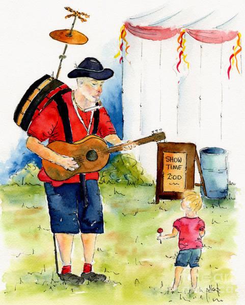 Painting - Saskatoon Children's Festival by Pat Katz