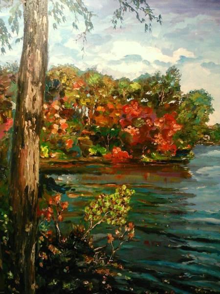 Painting - Sassaquin Pond by Ray Khalife