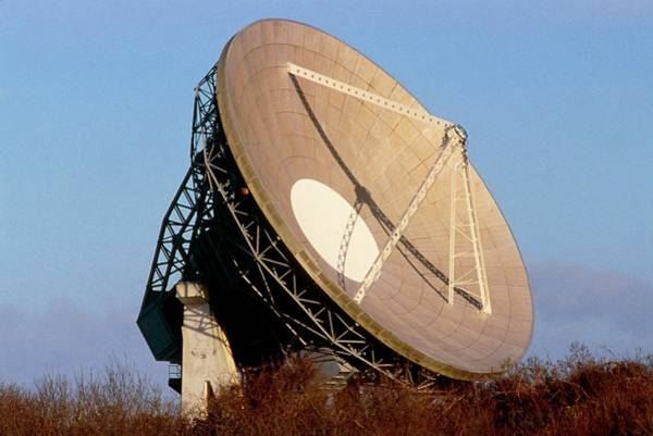 Satellite Dish Photograph - Satellite Dish  by Martin Dohrn/science Photo Library