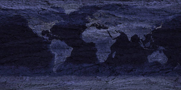 Photograph - Satellite Picture Confirming The World Is Flat by Ericamaxine Price