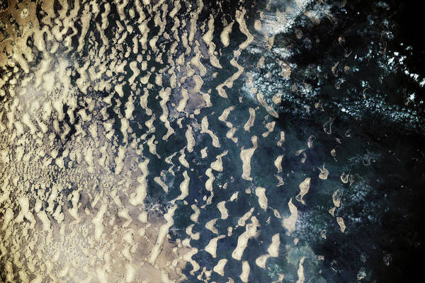 Nigeria Wall Art - Photograph - Satellite View Of Lake Chad, Borno by Panoramic Images